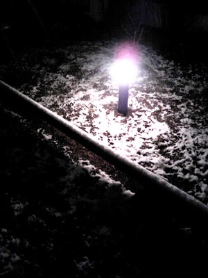 Lightinsnow